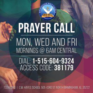 Prayer call