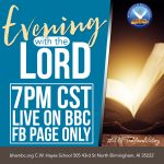 Evening with the Lord