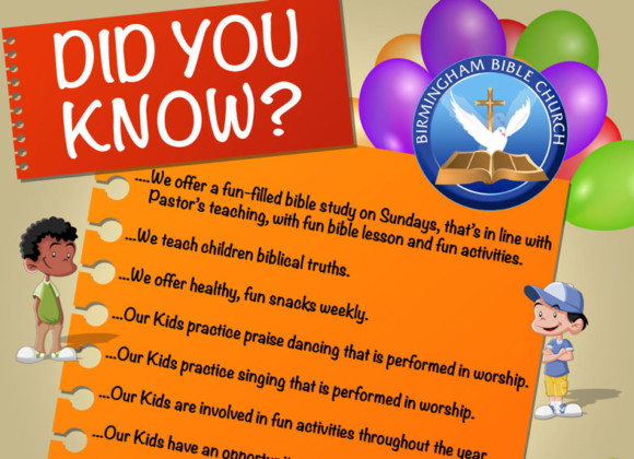 Did You Know – KIDS