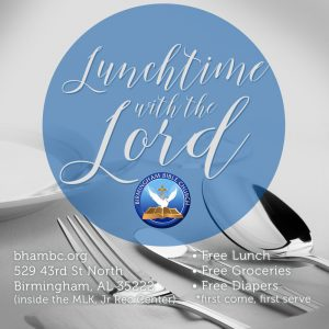 Lunch Time with the Lord