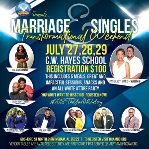 Marriage & Single's 2018 Conference Photos