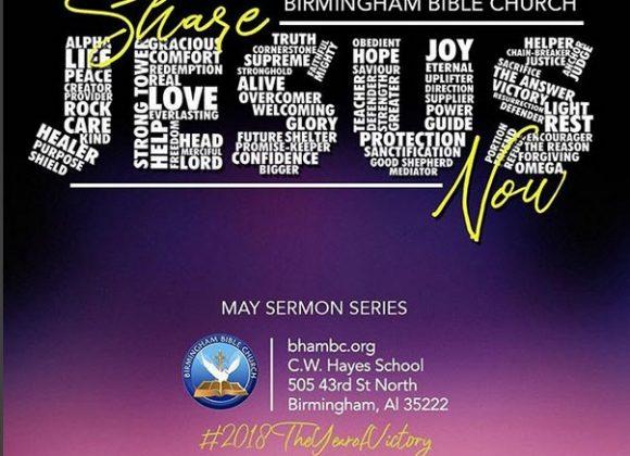 Share Jesus Now Series