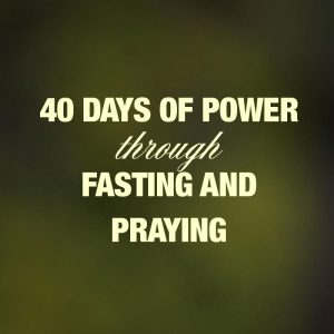40 days of fasting