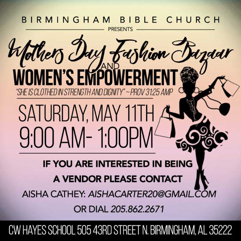 2019 Mother's Day Fashion Bazaar