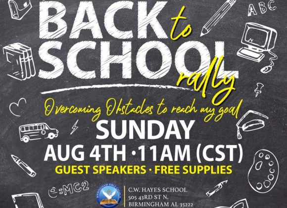 Back to School Rally 2019